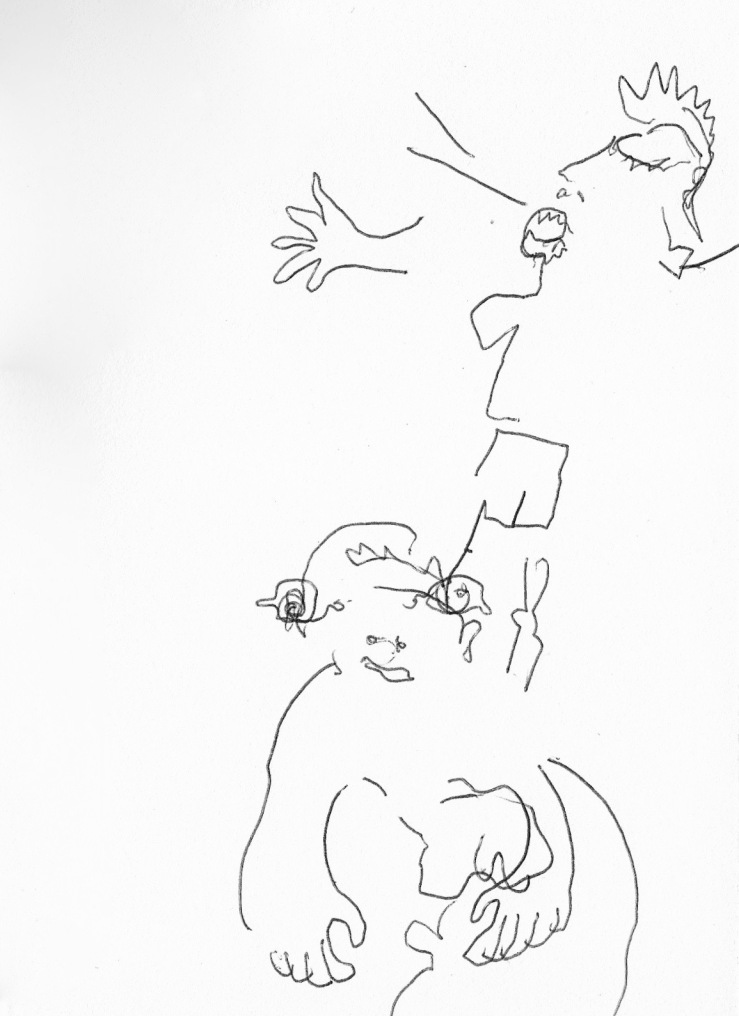 brailler sur un boeuf